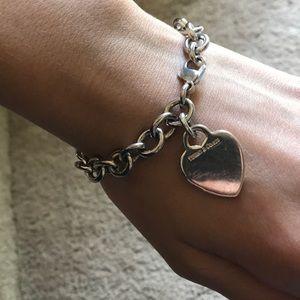 Jewelry - Heart Tag Bracelet
